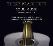 Soul Music: (Discworld Novel 16) by Terry Pratchett New Audio CD Book