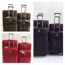 Suitcase set  Luggage Set of 4 piece 4 Wheel Expandable Soft  20  24 28 34