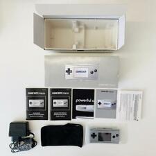 Nintendo Game Boy Micro Silber GBM OXY-S-AA-EUR komplett SEHR SELTEN WIE NEU TOP