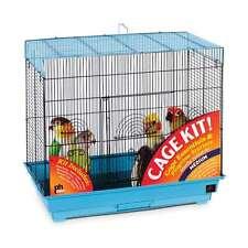 Prevue Hendryx Flight Bird Cage Kit Blue & Black - 91340