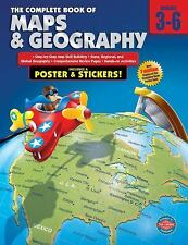 The Complete Book of Maps & Geography Grades 3 - 6 - Homeschool Workbook