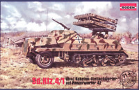 Roden 714 - SD. KFZ. 4/1 Panzerwerfer 42 - 1/72 scale model airplane kit 120 mm