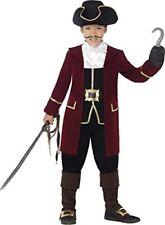 Smiffys 43997m Déguisement enfant Capitaine Pirate Noir Taille M