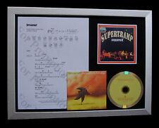 SUPERTRAMP Dreamer LTD TOP QUALITY MUSIC CD FRAMED DISPLAY+EXPRESS GLOBAL SHIP