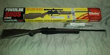 Daisy air gun PowerLine 880S multi pump bb or pellet with scope