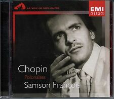 CHOPIN 8 POLONAISES SAMSON FRANCOIS CD EMI 1995
