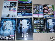 The CORPSE BRIDE Japan flyer x3! Johnny DEPP Tim Burton Halloween rare originals