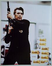 AL PACINO Signed Large 11x14 HEAT Lt. Vincent Hanna w/ Gun in Hand Photo GA GAI