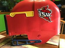 New ListingIllinois State Football Helmet Mailbox New!