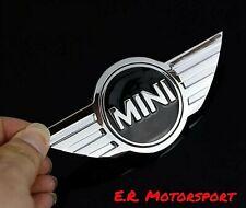 Stemma Logo adesivo Cromato per Mini Cooper cm 12 x 5,2