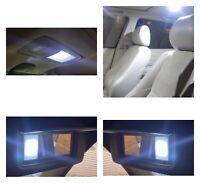 White Sunvisor, Dome/ Map Light LED interior bulb Kit  For Lexus IS300 2001-2005
