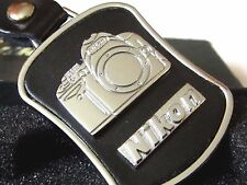 RARE GENUINE LIMITED EDITION NIKON LEATHER KEYCHAIN WITH GIFT BOX D3X D4 D4S DF