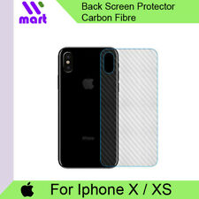 Back Screen Protector Film Carbon Fibre for Apple Iphone X / XS