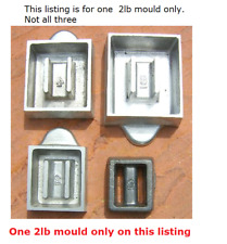 2lb scuba diving weight mould Listing for one mould only. 4lb and 6lb available.