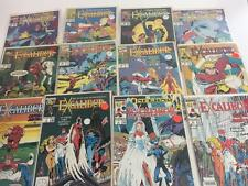 Comic Book Lot Excalibur Lot 12 Marvel 1988 1st Series Monthly Issue