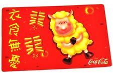 Coca-Cola Coke 2003 Taschenkalender Kalender chinesisches Horoskop Ziege Schaf 3