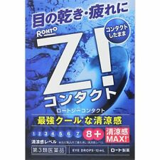 Rohto Z CL for contact Eyedrops 12ml from Japan high cooling