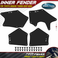 4x Fender Liners Seal Flaps Guard Splash Shield for Toyota Sequoia Tundra 07-20