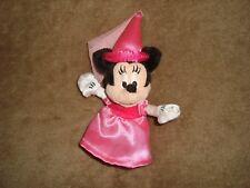 "Disneyland Walt disney World Plush Minnie Mouse Princess small plush 6"""
