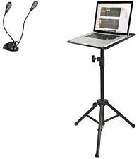 QuikLok Multi-Function Adjustable Tripod Stand w/ Music Clip Light