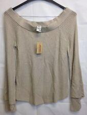 NEW American Rag Junior's Off The Shoulder Sweater Size Medium