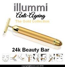 24k Gold Facial Skin Lifting Massage Wrinkle CACI FACE LIFT  ROLLER BEAUTY BAR