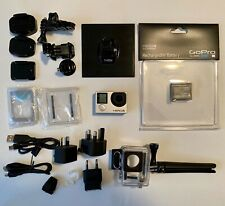 GoPro HERO4 Silver with extra batter + wall charger + other extras (barely used)
