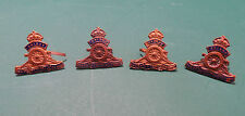 4x Small Army Lapel/Cuff/Cap/Sweetheart Badges
