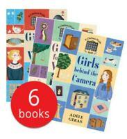 Usborne Chelsea Walk Book Series Collection Set x 6 Books -Girls Through History