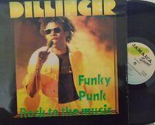 DILLINGER - Punky Funk Rock To The Music ~ VINYL LP