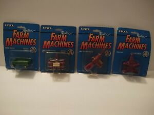 Ertl 1991/1992 Replica Farm Machines lot of 4 Die Cast