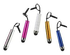 5 x BULLET STYLUS PEN FOR IPHONE IPAD TABLET SAMSUNG HTC ETC