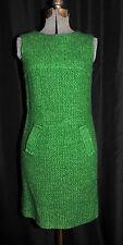 VTG 60's Scooter Dress Sears Fashions Size XS/SM Button Back Woven ILGWU Label