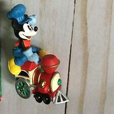 Hallmark Merry Miniatures Mickey's Locomotive Figure Mickey Express 1998 (dr)