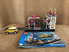 7937 LEGO Complete City Train Station railroad depot minifigures