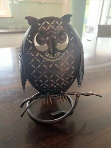 Owl Candle Holder Partylite
