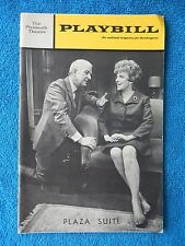 Plaza Suite - Plymouth Theatre Playbill - April 1970 - Don Porter - Peggy Cass