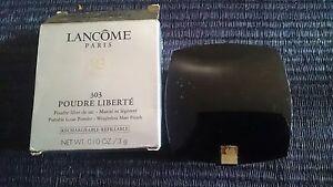 New Lancome Paris Poudre Liberte portable loose powder case matt finish #303