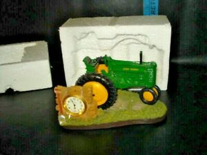 John Deer Tractor Clock / Time Zone WITH BOX