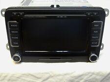 GENUINE VW RNS510 NAVIGATION SAT NAV DVD CD SD RADIO MAIN UNIT 1T0035680C
