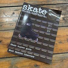 Skate Inline Australia Magazine Vol 1 No.3 Matt Salerno Cesar Mora Rollerblades