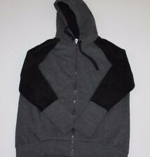 Women's Alo Yoga Enhance Jacket Charcoal Heather, Black - Size LARGE