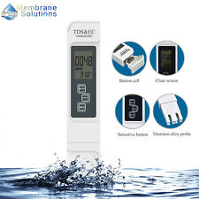 Digital TDS&EC Meter Water Quality Tester for Hydroponic Nutrient Level