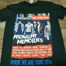 One Direction 2014 Midnight Memories Where We Are tour shirt