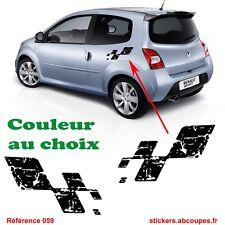 Stickers Damier Destructuré Renault Sport - Clio Megane Twingo RS GT - 059