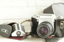 Pentacon Six TL Meduim Format Camera with Zeiss Biometar 80mm 2.8 and Case