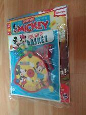 New listing Mickey Mouse Minnie French Toy Game + Magazine - Ton Jeu De Basket + Journal New