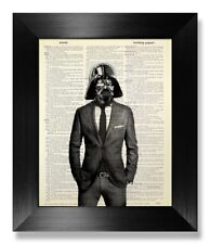Star Wars Poster Darth Vader Dictionary Wall Art Boyfriend Gift Husband Gift