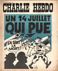 CHARLIE HEBDO N°139 du 16 juillet 1973 un 14 juillet qui pue ! gébé