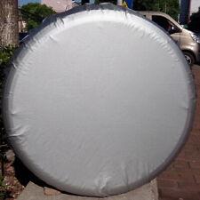 For Toyota RAV4 CR-V Car Spare Wheel Tyre Tire Cover Bag Protector 28~29M Silver